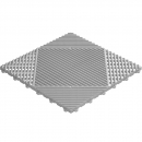 Grid click tile silver 6er set