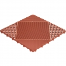 Grid click tile terracotta 6er set