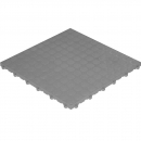Click tile with nubs gray 6er set