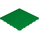Click tile with nubs green 6er set