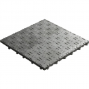 Click tile ribbet gray 6er set