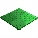 Click tile ribbet green 6er set