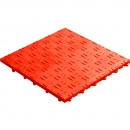 Click tile ribbet red 6er set