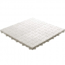 Click tile ribbet white 6er set