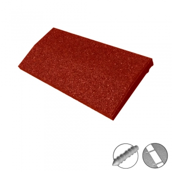 Curb ramps SRP | 2-4,5 cm | 50x25 cm | red