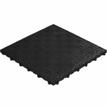 Click tile ribbet black